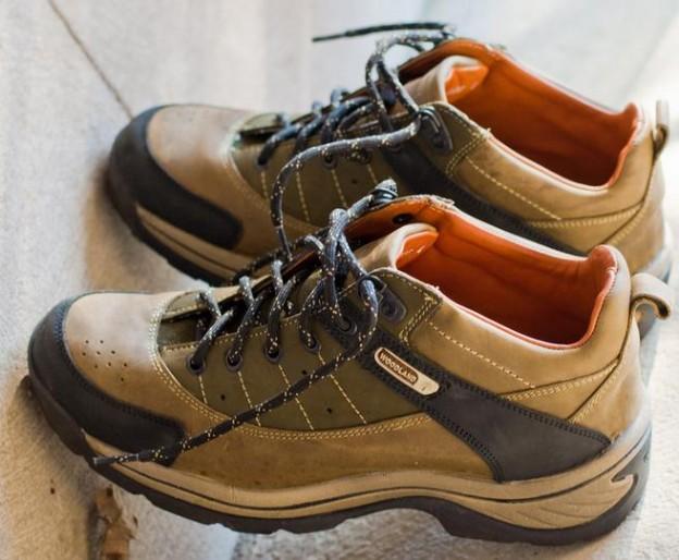 buty trekkingowe profil